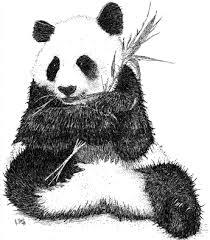 kreslen233 obr225zky panda velk193